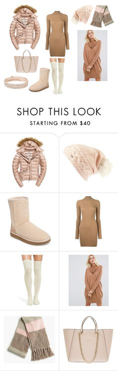 """""""winter outfit"""" by kaja-232 ❤ liked on Polyvore featuring Fuji, UGG, adidas Originals, ASOS, J.Crew, GUESS and Anne Klein"""