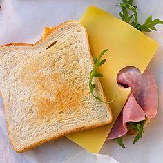 Cordon-bleu-Sandwich mit Currymayo