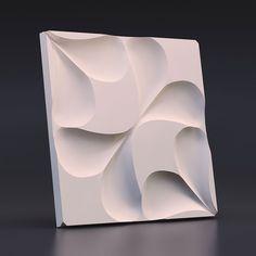 Полиуретановые (силиконовые) формы для 3D панелей из гипса и бетона
