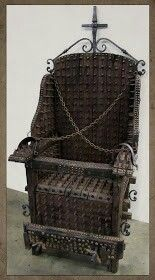 The Chair of God from the Lords of Salem. If anyone knows where I can buy this let me know it would be the perfect finnishing piece for my living room! Victorian Gothic, Victorian Homes, Victorian Crime And Punishment, The Lords Of Salem, Stunts, Hanging Chair, History, Interesting Stories, Twilight