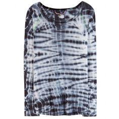 mytheresa.com - Longsleeve aus Baumwolle mit Batik-Print - Langarm - Tops - Kleidung - Luxury Fashion for Women / Designer clothing, shoes, ...