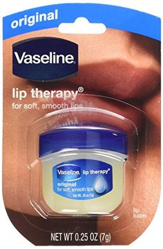 Vaseline Lip Therapy Original 025 Ounce Pack of 12 *** Check out the image by visiting the link.