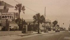1970s Jax Beach Jacksonville Restaurants, Jacksonville Fla, Vintage Florida, Old Florida, Atlantic Beach, The Good Old Days, Beach Pictures, Wonderful Places, Street View