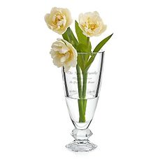 Personalized Vera Wang by Wedgwood® Orient Vase , Add Your Message