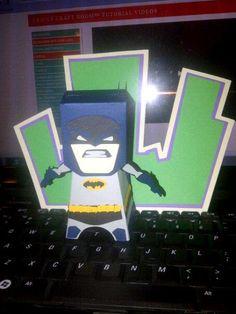 DC BATMAN FROM THE CRICUT
