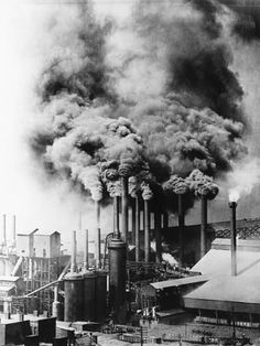 """As my novel """"Hometown News"""" demonstrates, the Rust Belt wasn't all big cities. (Pittsburgh steel mill, Carnegie Library of Pittsburgh) Pennsylvania History, Carnegie Library, Non Plus Ultra, Steel Mill, Industrial Architecture, Industrial Photography, History Projects, Pittsburgh Pa, Industrial Revolution"""