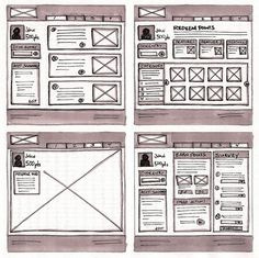 18 Great Examples of Sketched UI Wireframes and Mockups by Web Design Ledger - http://webdesignledger.com/inspiration/18-great-examples-of-sketched-ui-wireframes-and-mockups
