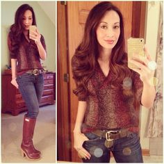 Casual Rainy Day OOTD: #hunterboots via #shop6pm ,#thelimited sweater, #skinnies #michaelkors belt #ootd #wiwt #fashion #fashionista #whatiwore #lookoftheday #instafashion #instastyle #igfashion #igstyle #mystyle #currentlywearing #instalook #hapa #followme #stylediaries