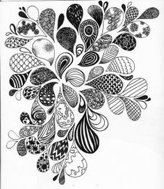 flower pen drawing I loooove ink drawings especially intricate