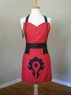 World of Warcraft inspired the horde by HauteMessThreads on Etsy,