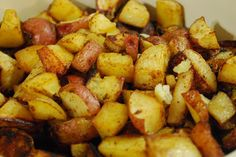 """Weight Watchers """"Point-less"""" Meals: Barbecued Potato Wedges (Disclaimer: I don't really care about WW, but MMMMM potatoes...)"""