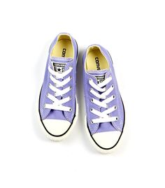 Lavender Low Top Chucks