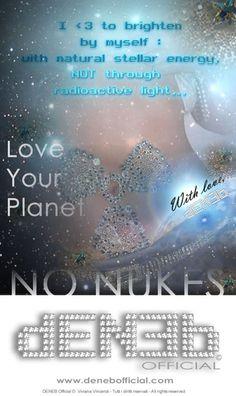 No Nukes Energieeinsparung Konstellationen Planeten Ich Liebe Dich