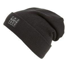 Men's The North Face 'Dock Worker' Beanie ($25) ❤ liked on Polyvore featuring men's fashion, men's accessories, men's hats, tnf black, mens hats, mens beanie, mens beanie hats and mens beanie caps