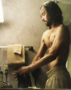Blood Moon. Ichabod + modern plumbing, soap and a hair dryer. Oh yes. More please.