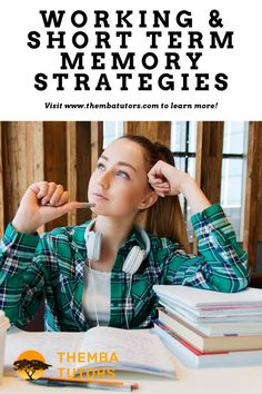 How can you improve your working memory or short-term memory? Here are working memory and short-term memory strategies that will help you retain and learn information.