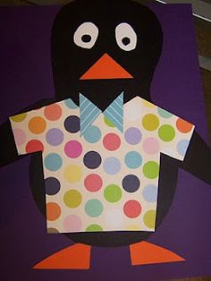 Good for retelling Tacky the Penguin and sequels.  I would probably put in on a popsicle stick.