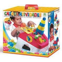 Brinquedo de Encaixar Casa de Atividades - Monte Líbano