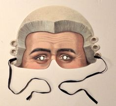 LAWYER COUNSEL ADVOCATE BARRISTER Mask made in England - found on eBay