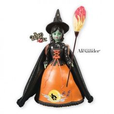 Halloween Wicked Witch of the West - 2013 Hallmark Madame Alexander Ornament…