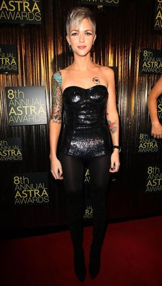 ASTRA Awards, 2010 - The Style Evolution of Ruby Rose - Photos