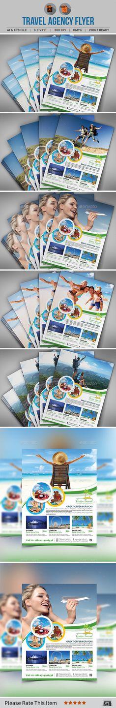 Travel Agency Flyer - Commerce Flyers