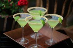 Key Lime Pie Martini - a prenuptial toast to a dear friend