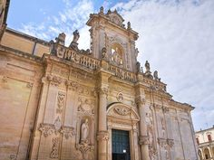 The Cathedral (Duomo) of #Lecce, #Puglia, Italy #Baroque facade