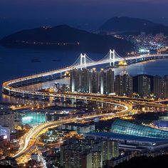 Südkorea - Busan Brücke
