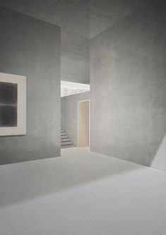 Archive Marzona in Berlin Germany - student project by Paula Ot & Daniel Schurer - render