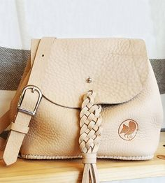 Bailey Leather Crossbody Bucket Bag by Dunole on Scoutmob