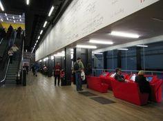 Tate Modern Level 3, display terminals