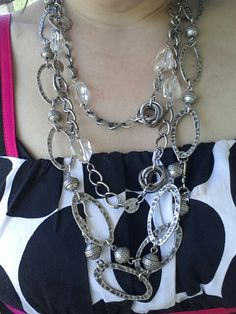Mialisia Jewelry ROME & SEPHIRA worn here as a Necklace Combination 2-3 pieces of VersaStyle= INFINITE Possibilities!! www.lifetimewarranty.mialisia.com https://m.facebook.com/MIALISIAVERSASTYLEJEWELRY?soft=side-area