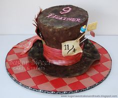 Sugar Sweet Cakes and Treats: Mad Hatter Hat Cake