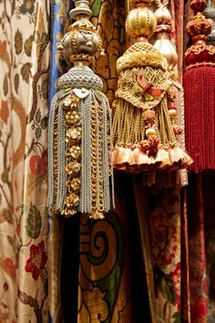 Passementerie and fabrics at Watts of Westminster, Maison & Objet 2014