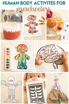 Human Body Theme Preschool Activities - Sandbox Academy