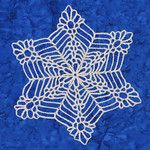 Ravelry: Bigger, Wetter, Heavier Snowflake pattern by Deborah Atkinson Crochet Snowflake Pattern, Christmas Crochet Patterns, Holiday Crochet, Crochet Snowflakes, Christmas Snowflakes, Christmas Knitting, Crochet Motif, Merry Christmas, Thread Crochet