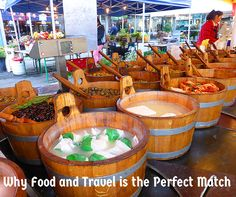 Why Food and Travel is the Perfect Match