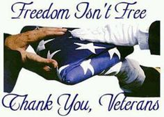 """I don't think that we say 'thank you' often enough, to those who have served, or are serving!! You really are our 'American Heroes""""!  Thank You, for keeping us safe!"""