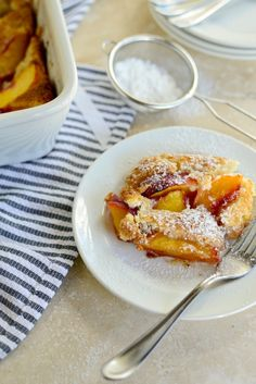 Brown Butter Peach Cobbler l www.SimplyScratch