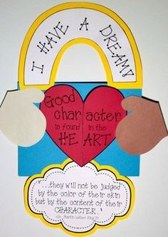 Character Counts {Martin Luther King Jr.) Heart opens: Good Character Is...