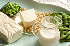 Eating soy products can prevent some of the symptoms and risks associated with menopause. It also decreases LDL cholesterol. See The Benefits of Soy to learn more.  ©iStockphoto.com/diane555