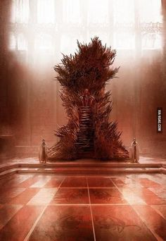 """George R.R. Martin: """"This is what the Iron Throne REALLY looks like..."""""""