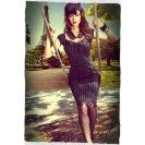Envy Pinstripe Wiggle Dress - $189.00