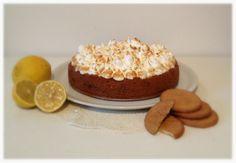 Cheesecake al limone con meringa all'italiana