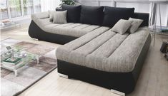 Hľadáte sedačku 🛋️, ktorá splní vaše predstavy o pohodlí? Takú, ktorá poslúži na sedenie, leňošenie aj spanie? Viac hľadať nemusíte, my sme ju objavili za vás. Je to sedacia súprava 🖤ELIMER🖤, ktorá poteší naozaj obdivuhodnými rozmermi. 😍 #sedacka #sedaciasurpava #relax #pohodlie #domov #nabytok Couch, Furniture, Home Decor, Homemade Home Decor, Sofa, Couches, Home Furnishings, Sofas, Sofa Beds