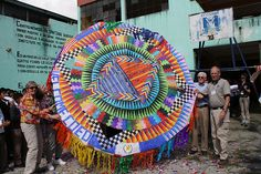 What a colorful kite! Is anyone at one of the kite festivals in Guatemala this year?? #Guatemala #kites