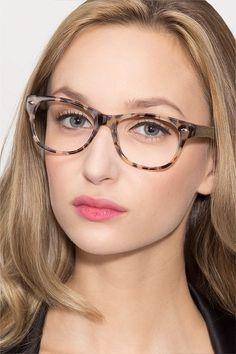 2b809c9d5 Ivory/Tortoise Wayfarer Prescription Eyeglasses-Medium Full-Rim Acetate  Eyewear-Amber