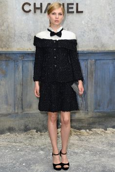 Clemence Poesy wearing Chanel #BestDressed
