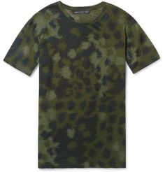 Marc by Marc Jacobs Clement Camouflage-Print Cotton T-Shirt